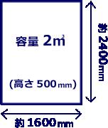 1tトラック荷台イメージ
