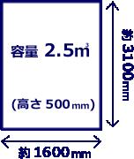 2tトラック荷台イメージ