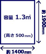 軽トラック荷台イメージ